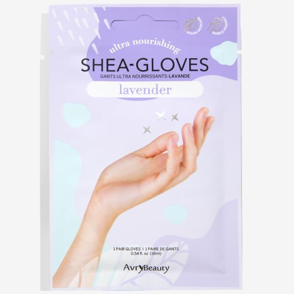 Shea-Gloves - Lavender-Essentials & Self Care-Universal Nail Supplies