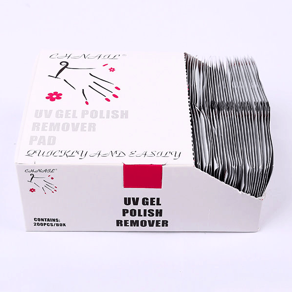 UV Gel Polish Remover Pad 200 pcs/box-Nail Tools-Universal Nail Supplies