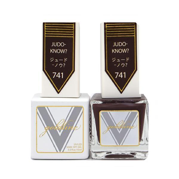 Vetro Goldline Gel + Matching Lacquer - Judo-Know? #741-Gel Nail Polish + Lacquer-Universal Nail Supplies