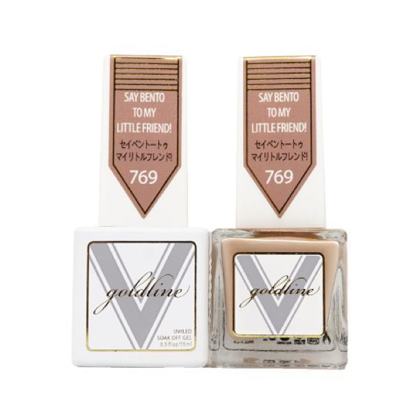 Vetro Goldline Gel + Matching Lacquer - Say Bento To My Little Friend! #769-Gel Nail Polish + Lacquer-Universal Nail Supplies