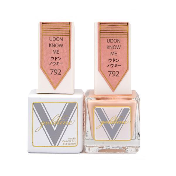 Vetro Goldline Gel + Matching Lacquer - Udon Know Me #792-Gel Nail Polish + Lacquer-Universal Nail Supplies