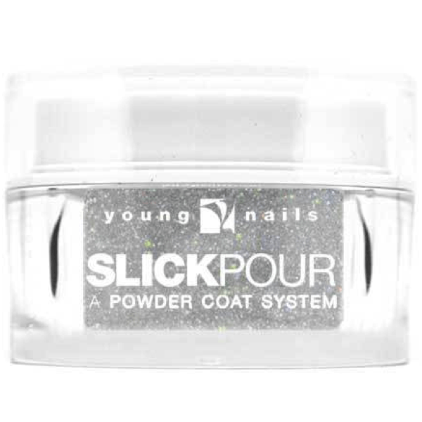 Young Nails Slick Pour - Tinsel Times Two #09 - Universal Nail Supplies