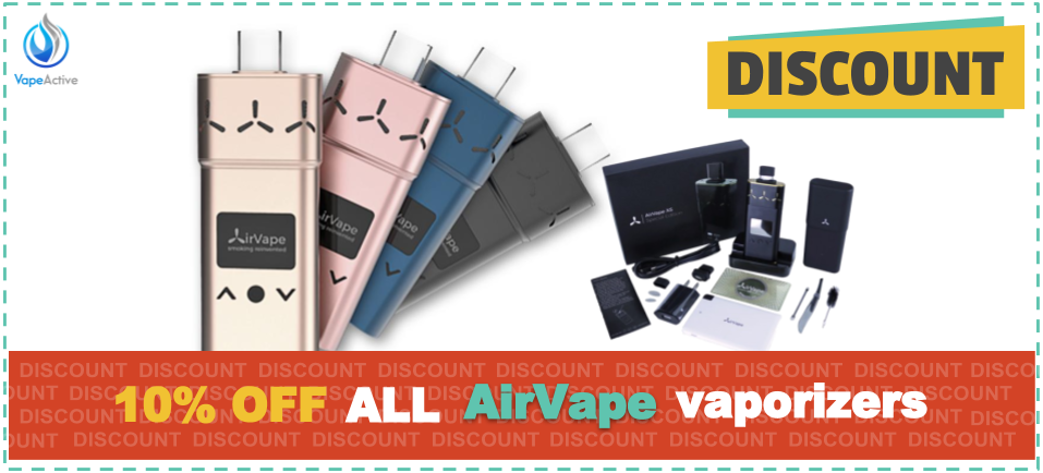 10% AirVape Coupon Codes for 2019 – VapeActive