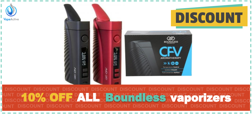 Boundless Vaporizers Discount