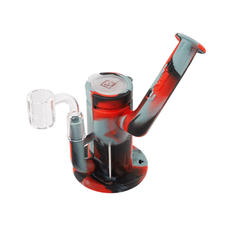 Eyce Sidecar Silicone Dab Rig Black and Grey
