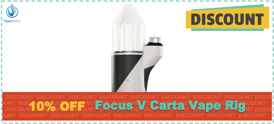 Focus V Carta Vape Rig discounts