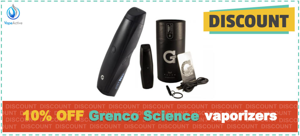 Grenco Science Vaporizers Coupon Code