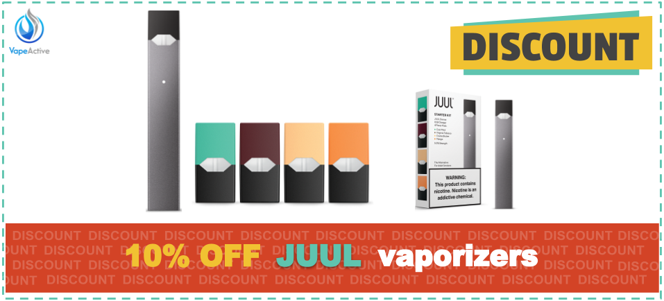 10% Off JUUL Coupon Codes for 2019 – VapeActive