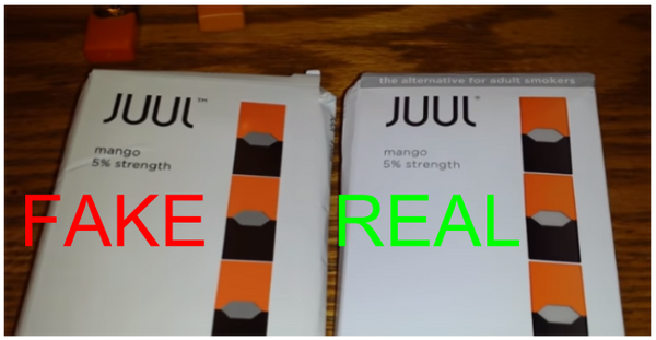 fake juul pods packaging