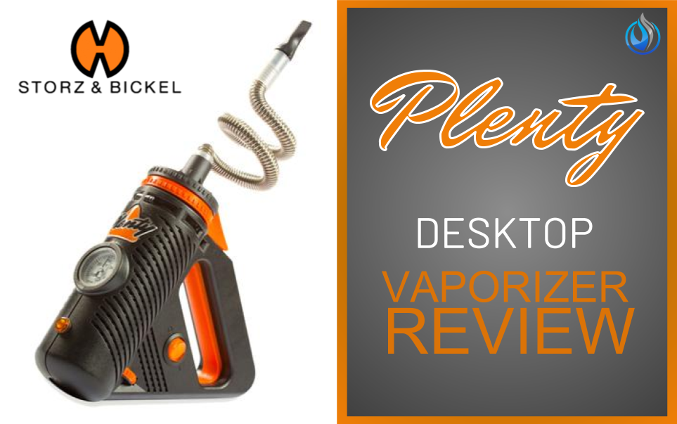 Storz & Bickel Plenty Vaporizer Review