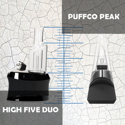 high five duo vs peak - size