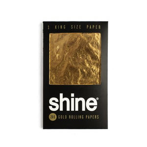 Shine® 1-Sheet Pack King Size Rolling Papers