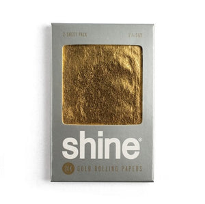 Shine® 2-Sheet Pack Rolling Papers