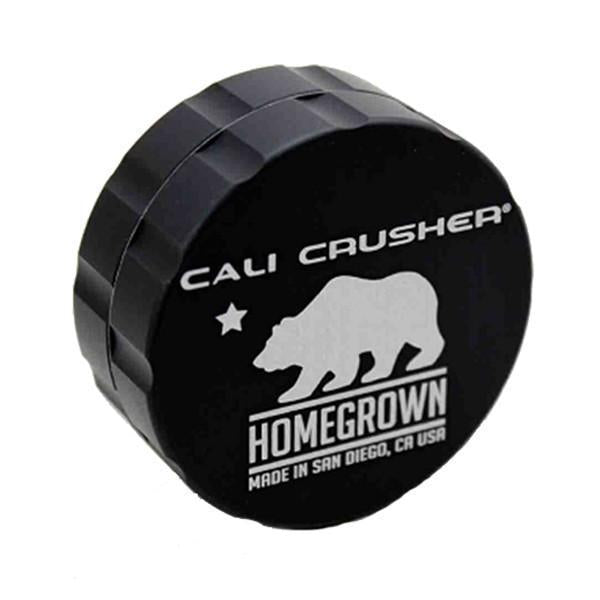 Cali Crusher Homegrown Grinder - 2 Piece - Black
