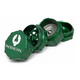 Phoenician Grinder - 4 Piece - Small Green
