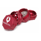 Phoenician Grinder - 4 Piece - Small Red