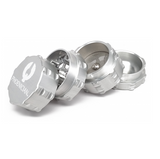 Phoenician Grinder - 4 Piece - Small Silver