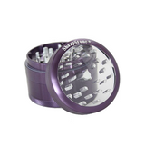 SharpStone Grinder - 4 Piece - Clear Top - Purple
