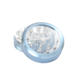 "SharpStone Grinder - 2 Piece - Clear Top (2.2"") - Blue"