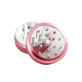 "SharpStone Grinder - 2 Piece - Clear Top (2.2"") - Pink"
