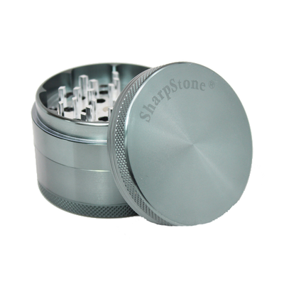 SharpStone Grinder - 4 Piece - Hard Top - Gray