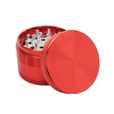 SharpStone Grinder - 4 Piece - Hard Top - Red