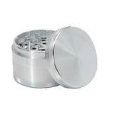 SharpStone Grinder - 4 Piece - Hard Top - Silver