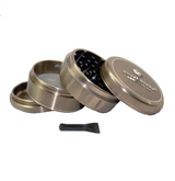 SharpStone Grinder V2 - 4 Piece - Hard Top - Brown