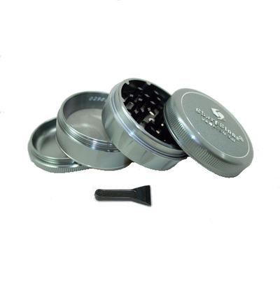 SharpStone Grinder V2 - 4 Piece - Hard Top - Gray