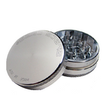 Space Case Grinder - 2 Piece - Silver