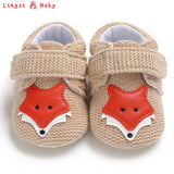 0-18mo | Walkers | Knitted Foxes