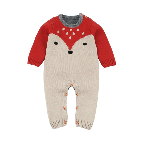 3-18mo | Romper | Spotted Fox
