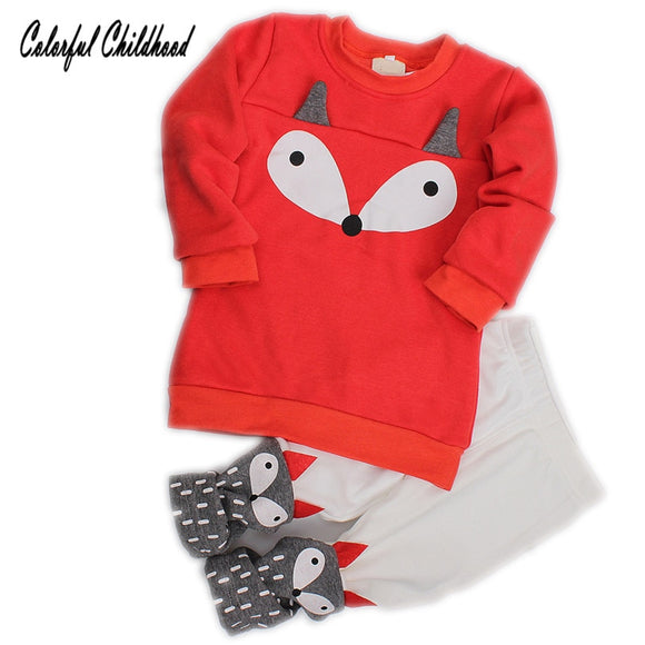 18m-4T | Outfit | Foxy Leggings Suit