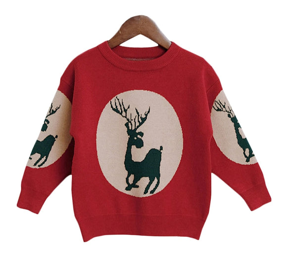 2T-7 | Sweater | Reindeer Window