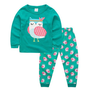 2T-7 | Pajamas | Headband Owl
