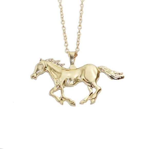 Women's Jewelry | Running Horse Necklace