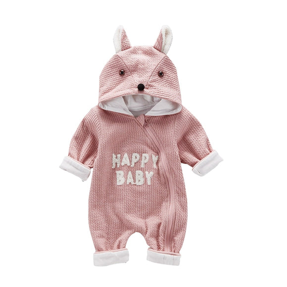 6-18mo | Romper | Happy Baby Fox