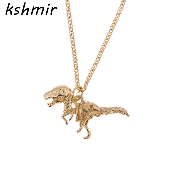 Women's Jewelry | Dino Skeleton Necklace