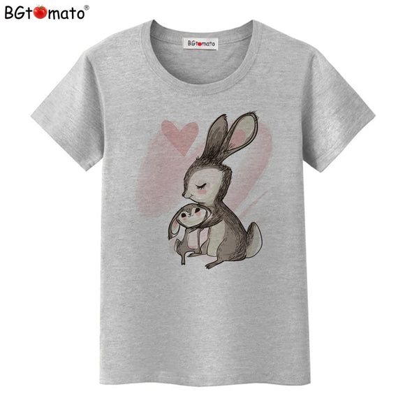 Women's T-Shirt | Bunny Mom and Baby