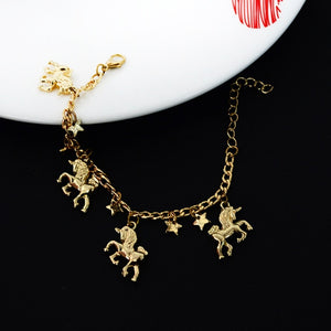 Women's Jewelry | Unicorn Charm Bracelet