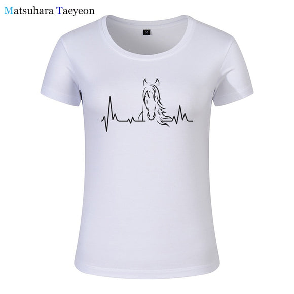 Women's T-Shirt | Horse Heartbeat