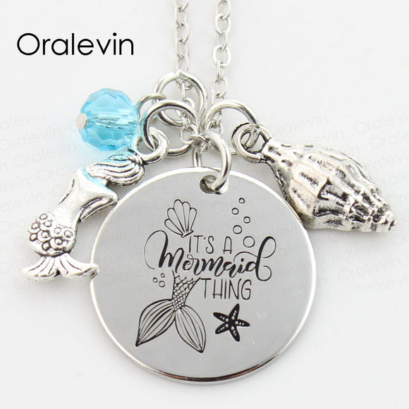Women's Jewelry | Mermaid Thing Necklace