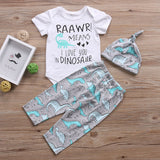 0-24mo | Outfit | Dinosaur Raawr!