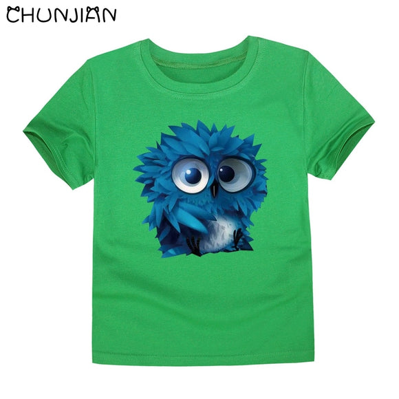 2T-5 | T-Shirt | 3D Feathery Owl