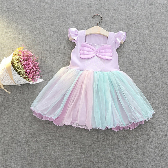 24mo-4T | Dress | Mermaid TuTu