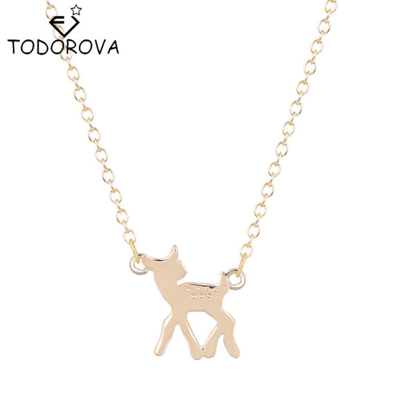 Women's Jewelry | Deer Charm Necklace