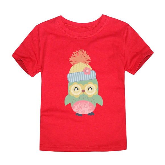 2T-5 | T-Shirt | Warm Fuzzy Owl