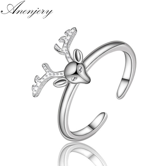Women's Jewelry | Silver Deer Head Ring