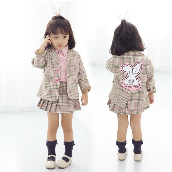 18mo-5T | Outfit | Bunny Business Suit