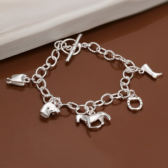 Women's Jewelry | Exquisite Horse Charm Bracelet